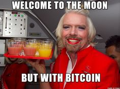 #Bitcoin, Welcome To The Moon.