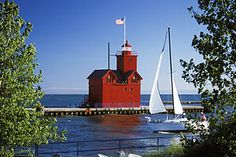 Holland Lighthouse  -  Holland, Michigan