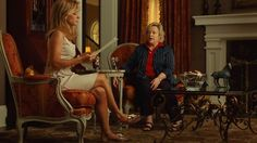 From the movie The Blind Side - Leigh Anne (Sandra Bullock) hires Miss Sue (Kathy Bates) to tutor Michael (Quinton Aaron) in spite of her confession that she is a Democrat. The Blind Side, Inspirational Movies, New Trailers, Sandra Bullock, Blinds, Told You So, Film, Google Search, Shoes