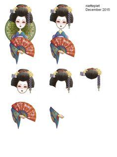 knipvel geisha