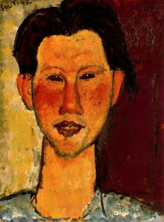 Portrait of Chaim Soutine, 1915, Amedeo Modigliani