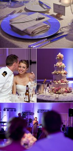 Romantic Austin Military Wedding from Q Weddings