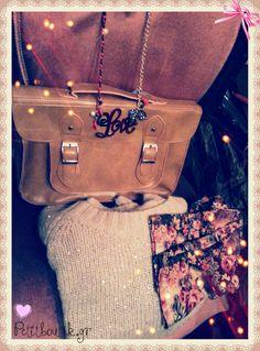#satchel #bags #brown #leggings #sweaters #love #inspire #romantic #girly