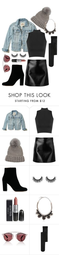 """'Tis the season to rock"" by reine-chanel on Polyvore featuring Hollister Co., WearAll, Eugenia Kim, Philosophy di Lorenzo Serafini, Valentino, Christian Dior and MANGO"