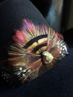Feather Hair Comb Superior Materials Hair Care & Styling Health & Beauty