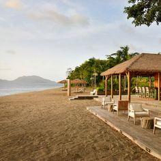 Escapes to paradise: Beach bar at Paradise Beach Nevis. Coastalliving.com