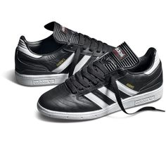 adidas Busenitz-Black-Running White-Light Scarlet