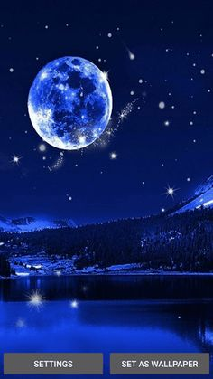 Night Pictures Full Moon Pictures Free Live Wallpapers Wallpaper Downloads Star Wallpaper