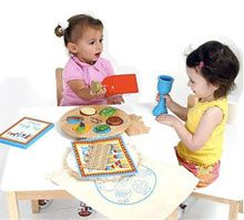 Passover play set--wooden toys to keep your kids entertained.