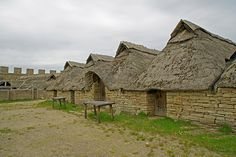 Eketorp Castle is a great place to visit on the island of Oland. This fort from the Iron Age has been extensively enlarged over the years and is often used for medieval re-enactments.