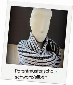 VanitasKREATIV: Patentmusterschal No 2