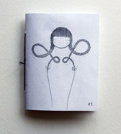 Zine 1  a collage sketchbook by stasiab on Etsy, $4.00