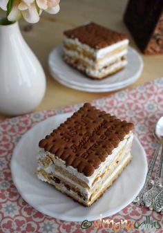 Tort Seherezada – un desert oriental - simonacallas Dessert Drinks, Desserts, Creme Caramel, Homemade Cheesecake, Cakes And More, No Bake Cake, Tiramisu, Biscuit, Good Food