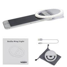 Tragbare Handy Selfie Kamera Licht Led Fotolicht: Amazon.de: Elektronik