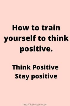 If you want to think positive thoughts and stay in a positive mood, things you can do, to train yourself being more positive. Motivation Positive Thoughts, Think Positive Thoughts, What Is Positive, Staying Positive, Negative Thoughts, Quotes Motivation, Monday Motivation, Positive Quotes, Job Career