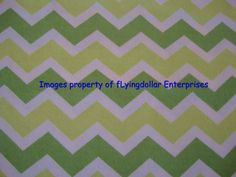 Green and White Printed Chevron Cotton Snuggle by flyingdollar, $6.99