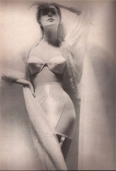 Underwear by Lily of France, 1954. S)/ What our mothers put up with.