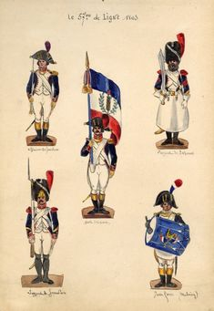 Napoleonic Wars, Jumping Jacks, Strasbourg, Soldiers, French, Baseball Cards, History, Paper, War