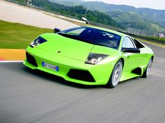 cool green cars | The sanitary Green Lamborghini Gallardo drifted from the furious ...