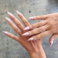 NAIL GOALS tag a #bff who would love these nails! #nailinspo #chrome #inspo