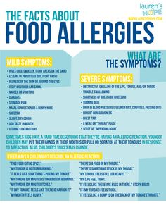 Children have different ways of expressing that they're having an #allergicreaction. Do you know the symptoms of #anaphylaxis? #allergies #food #infographic