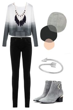 """""""Set 6"""" by amaris338 on Polyvore featuring AG Adriano Goldschmied, Nicholas Kirkwood, women's clothing, women's fashion, women, female, woman, misses and juniors"""