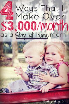 Wow! This mom makes over $3000/month from home!