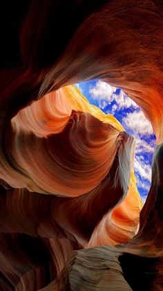 The Incredibly Beautiful and Magical two-section slot canyon, Antelope Canyon . on Navaho Nation Land near Page and Lake Powell in Arizona. Places Around The World, Around The Worlds, Beautiful World, Beautiful Places, Landscape Photography, Nature Photography, Photography Courses, Photography Magazine, Photography Tips