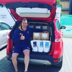 Santa's come early for Karl Bloxham and Otago Rugby! This should be enough protein to keep the boy's Inline with their daily needs for a while! With Christmas just around the corner, Why not treat yourself or your friends and family to some of our delicious, 100% Natural protein?! Jump online and get your's today! www.inlinenutrition.co.nz Natural Protein, Whey Protein Powder, Inline, Plant Based Diet, Rugby, Corner, Friends, Christmas, Amigos