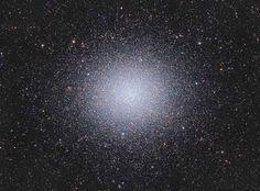 Globular cluster Omega Centauri, containing millions of stars.