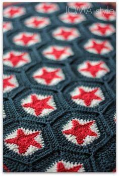 crochet star blanket - so beautiful!