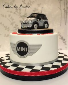This was made for my nephews birthday and had a model of his own mini on the top! :)