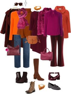 Ensemble: Cranberry, Pumpkin & Bordeaux