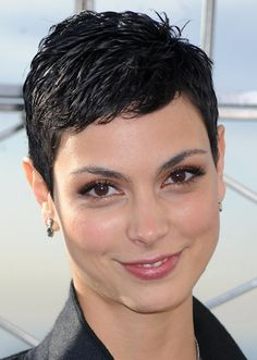 Morena Baccarin visits The Empire State Building on November 17, 2009 in New York City. Picture by Dennis Van Tine/LFI