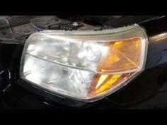 (403) 2006 Honda Pilot - Headlights Before & After Meguiar's Plastic Lens Restoration Kit - YouTube