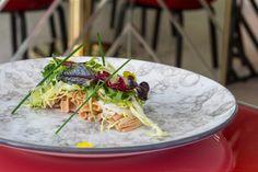 Ensalada de anguila - Eel salad. Más info en www.madridcoolblog.com