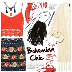 How To Wear Bohemian Chic Outfit Idea 2017 - Fashion Trends Ready To Wear For Plus Size, Curvy Women Over 20, 30, 40, 50