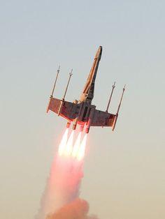 X-wing launch. #StarWars