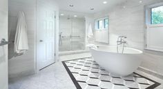 Classic Look In A Chevy Chase Bath In This Timelessly Elegant Bath