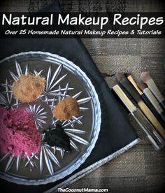 Homemade Natural Makeup Recipes (Over 25 Recipes)