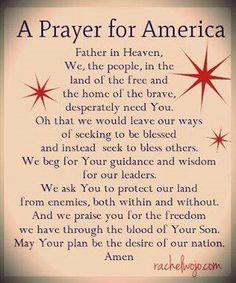 GOD BLESS THE U.S.A. !!!