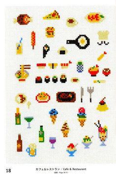 Master Makoto Oozu Collection 01 - Cross Stitch Icons Sho...