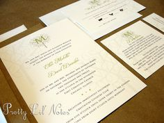 Happy Tree Monogram Custom Color Wedding by PrEttYLiLNoTeS on Etsy