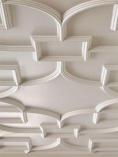 Gold Coast Penthouse - Suzanne Lovell Inc. Drawing Room Ceiling Design, House Ceiling Design, Ceiling Design Living Room, Bedroom False Ceiling Design, Duplex House Design, Home Ceiling, Bedroom Ceiling, Ceiling Tiles, Ceiling Decor