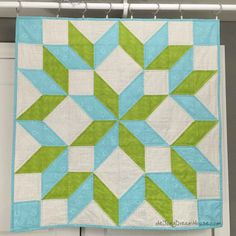 de Jong Dream House: Quilt #56: Branch's Carpenter Star