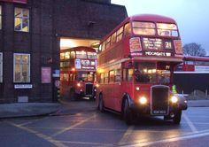 London Bus, Old London, London Transport, Public Transport, Rt Bus, 4x4, Routemaster, Double Decker Bus, Bus Coach