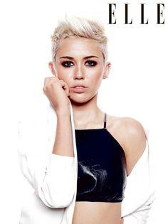 Snapshot: Miley Cyrus for Elle UK June 2013