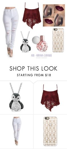 """Untitled #113"" by bchagolla01 ❤ liked on Polyvore featuring Amanda Rose Collection and Casetify"