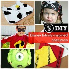 9 Disney Infinity-Inspired Costumes and Accessories Creative Halloween Costumes, Disney Halloween, Holidays Halloween, Diy Costumes, Halloween Kids, Halloween Treats, Halloween Party, Costume Ideas, Run Disney
