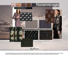 Womenswear color and fabric trend Fall-Winter from the Italtex seminar a. - Italtex Srl - - Womenswear color and fabric trend Fall-Winter from the Italtex seminar a. Stylish Mens Fashion, Womens Fashion, Autumn Winter Fashion, Fall Winter, Trend Fabrics, Spring Fashion Trends, Fashion 2017, Latest Fashion, Fashion Wear